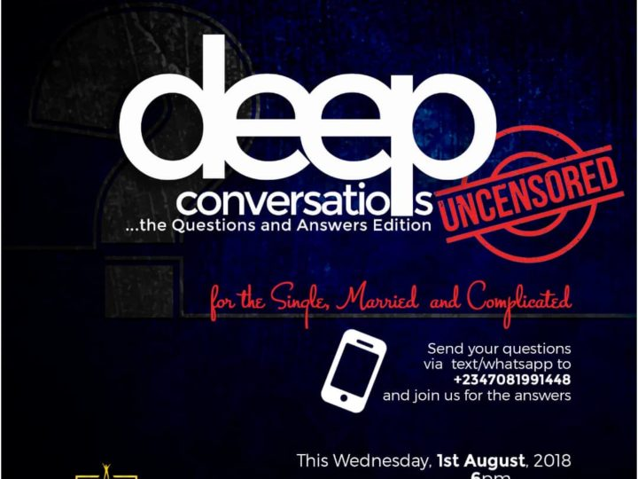 #Deep Conversations 2- Uncensored (Question & Answer Edition).